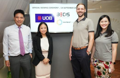 BECIS-Symbior secures 1.26 billion baht green project finance loan from UOB Thailand, Thailand's largest green loan in the commercial and industrial solar sector
