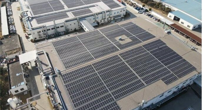 SIIX EMS (Shanghai) 1.8414 MW Rooftop Solar PV project successfully started commercial operation
