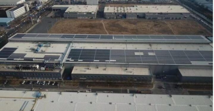 FLENDER 1.377MWp Rooftop solar PV project in Tianjin has been successfully connected to the grid